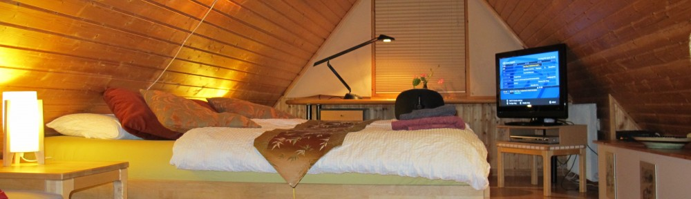 The B&B-House - Double room with workdesk, free WiFi and flatscreen TV